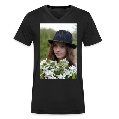 IMG 3391 jpg - Men's Organic V-Neck T-Shirt by Stanley & Stella
