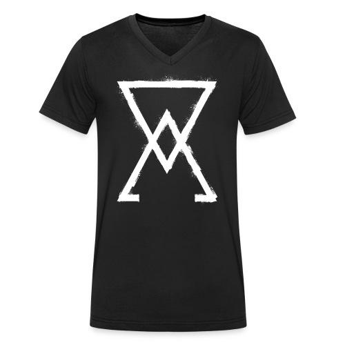 symbol arsenic 1 - Men's Organic V-Neck T-Shirt by Stanley & Stella