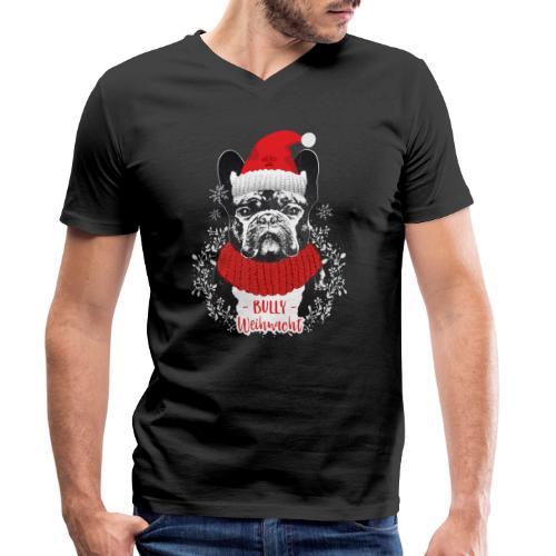 Bully Weihnacht Part 2 - Männer Bio-T-Shirt mit V-Ausschnitt von Stanley & Stella