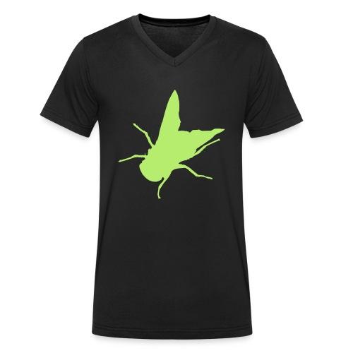 fliege - Männer Bio-T-Shirt mit V-Ausschnitt von Stanley & Stella