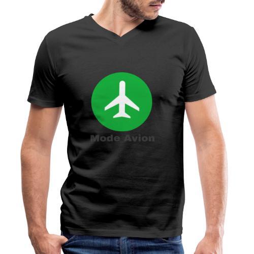 Mode Avion - T-shirt bio col V Stanley & Stella Homme