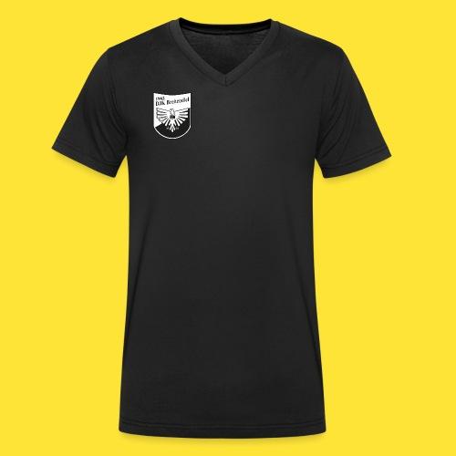 DJK Schwarz Weiß - Männer Bio-T-Shirt mit V-Ausschnitt von Stanley & Stella