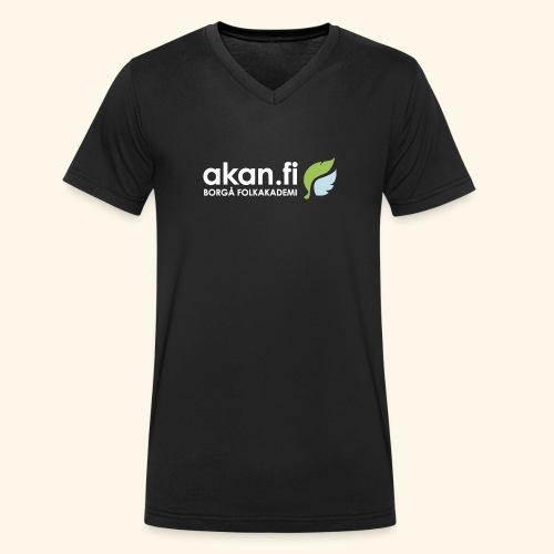 Akan White - Ekologisk T-shirt med V-ringning herr från Stanley & Stella