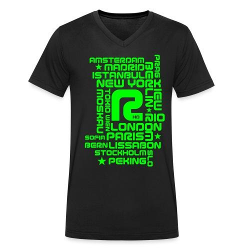 R-CITY - Männer Bio-T-Shirt mit V-Ausschnitt von Stanley & Stella