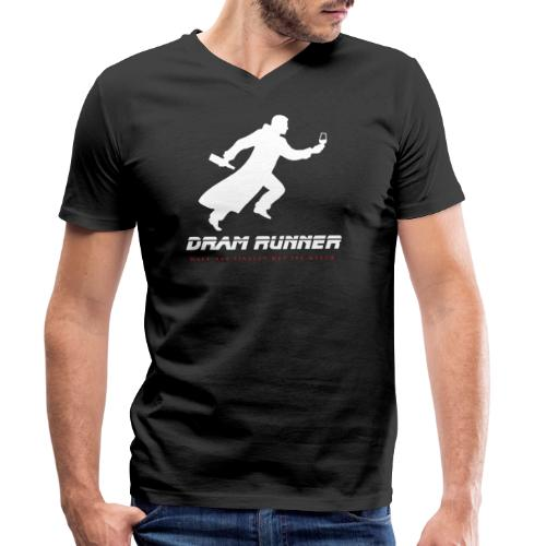 """""""Malt meets Movie""""-Series Part 4: DRAM RUNNER - Männer Bio-T-Shirt mit V-Ausschnitt von Stanley & Stella"""