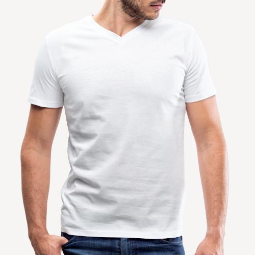 CATHOLICS WITH ATTITUDE - Men's Organic V-Neck T-Shirt by Stanley & Stella