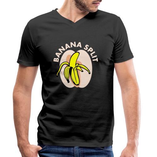 Banane split - T-shirt bio col V Stanley & Stella Homme