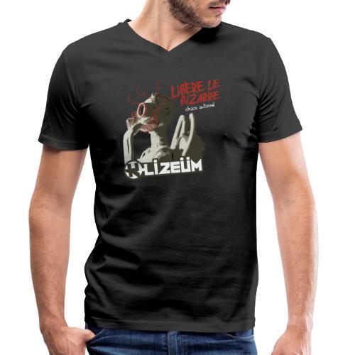 K Lizeüm - Libère le bizarre - T-shirt bio col V Stanley & Stella Homme