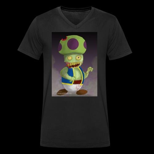 SuperMario: Zombie Toad - Mannen bio T-shirt met V-hals van Stanley & Stella