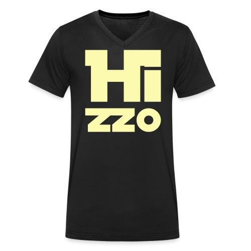 HIZZO_Star_light yellow - Männer Bio-T-Shirt mit V-Ausschnitt von Stanley & Stella