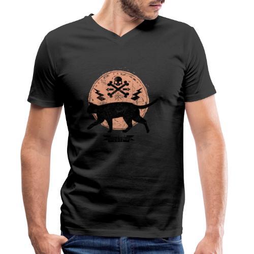 Catwalk - Männer Bio-T-Shirt mit V-Ausschnitt von Stanley & Stella