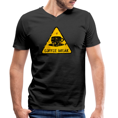 COBR01 - T-shirt ecologica da uomo con scollo a V di Stanley & Stella