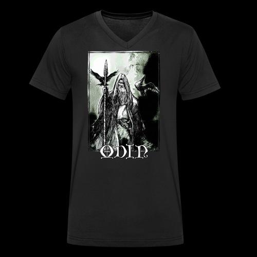 Odin the Wanderer - Men's Organic V-Neck T-Shirt by Stanley & Stella