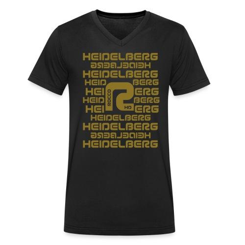 Heidelberg - Männer Bio-T-Shirt mit V-Ausschnitt von Stanley & Stella