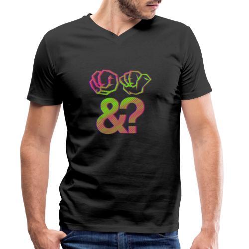 Na und? - Männer Bio-T-Shirt mit V-Ausschnitt von Stanley & Stella
