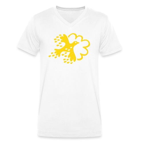 FLAX - Ekologisk T-shirt med V-ringning herr från Stanley & Stella