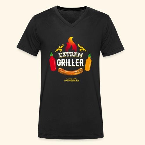 Extremgriller - Männer Bio-T-Shirt mit V-Ausschnitt von Stanley & Stella