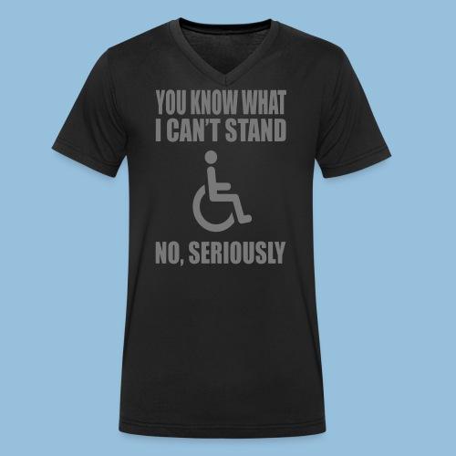 Can tstand1 - Mannen bio T-shirt met V-hals van Stanley & Stella