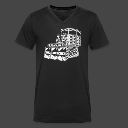 bulldozer 23 - T-shirt bio col V Stanley & Stella Homme