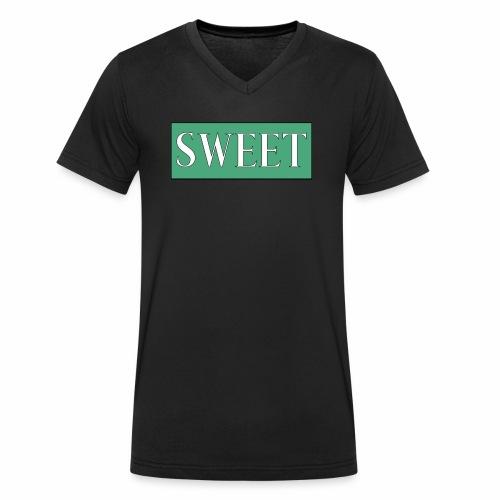 SWEET - Økologisk T-skjorte med V-hals for menn fra Stanley & Stella