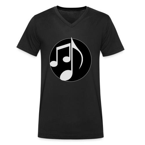 music note: MIGI WEAR - Mannen bio T-shirt met V-hals van Stanley & Stella