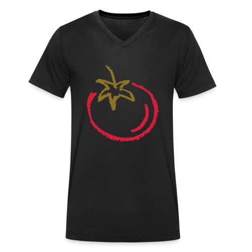 tomato 1000points - Men's Organic V-Neck T-Shirt by Stanley & Stella