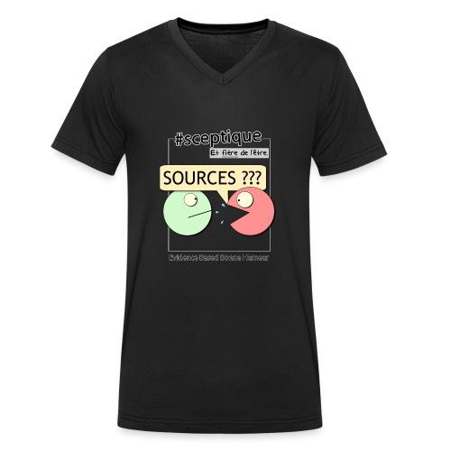 Sceptique et fier de l'être ! (Femme) - T-shirt bio col V Stanley & Stella Homme