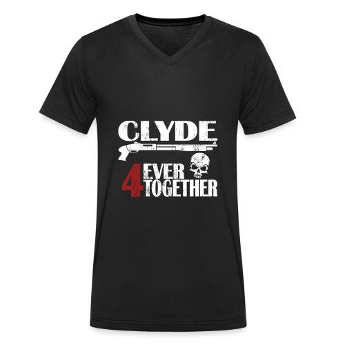 Bonnie - Clyde Geschenk Geschenkidee - Männer Bio-T-Shirt mit V-Ausschnitt von Stanley & Stella