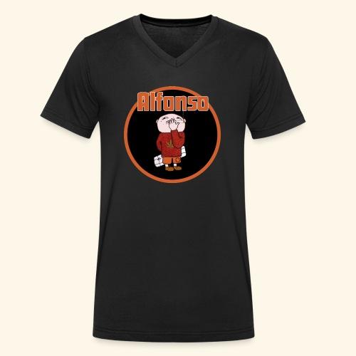 Alfonso - Ekologisk T-shirt med V-ringning herr från Stanley & Stella