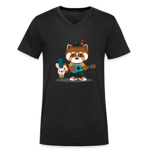 1 - T-shirt bio col V Stanley & Stella Homme
