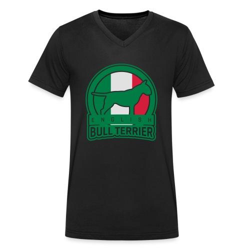 BULL TERRIER Italy ITALIA - Männer Bio-T-Shirt mit V-Ausschnitt von Stanley & Stella
