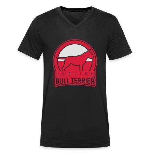 BULL TERRIER Poland POLSKA - Männer Bio-T-Shirt mit V-Ausschnitt von Stanley & Stella