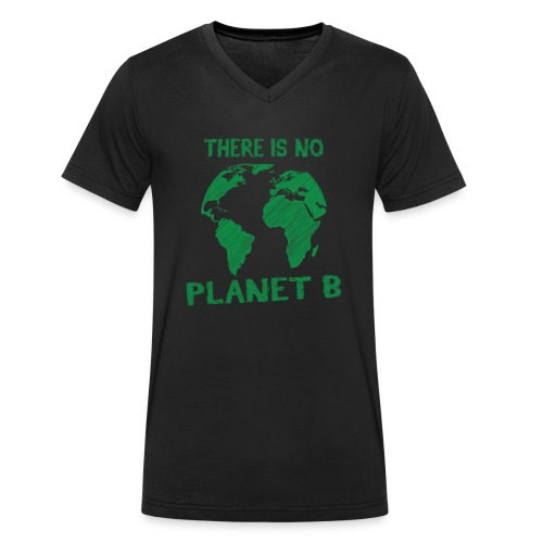 there is no Planet B - T-shirt bio col V Stanley & Stella Homme