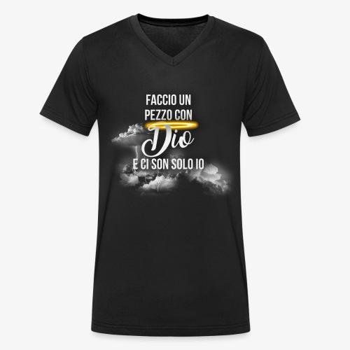 Rap Art Brand - T-shirt ecologica da uomo con scollo a V di Stanley & Stella