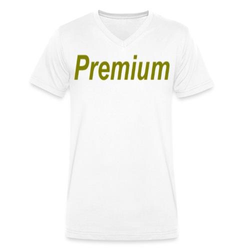 Premium - Men's Organic V-Neck T-Shirt by Stanley & Stella
