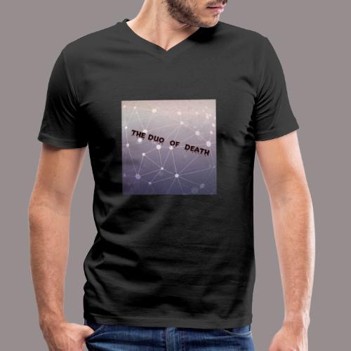 The duo of death logo - Mannen bio T-shirt met V-hals van Stanley & Stella