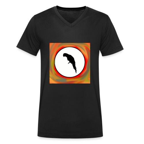 Papagei - Männer Bio-T-Shirt mit V-Ausschnitt von Stanley & Stella