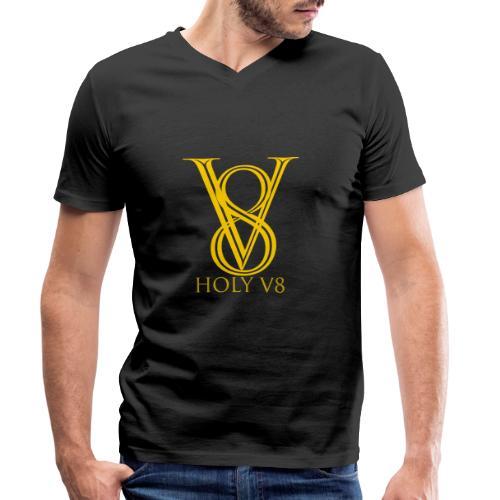 Holy V8 - Männer Bio-T-Shirt mit V-Ausschnitt von Stanley & Stella