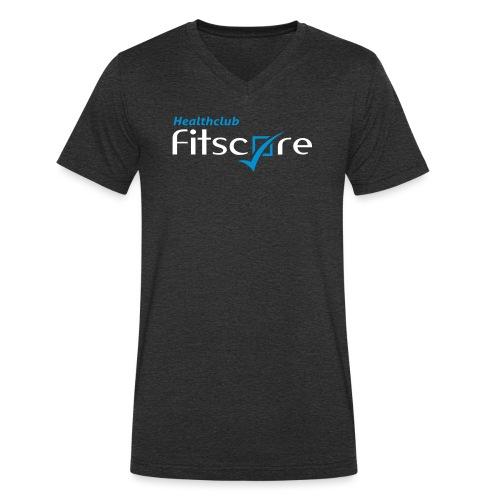 Healthclub Fitscore - Mannen bio T-shirt met V-hals van Stanley & Stella