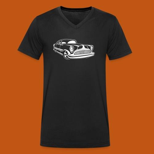 Lowrider / Oldtimer / Muscle Car 03_weiß - Männer Bio-T-Shirt mit V-Ausschnitt von Stanley & Stella