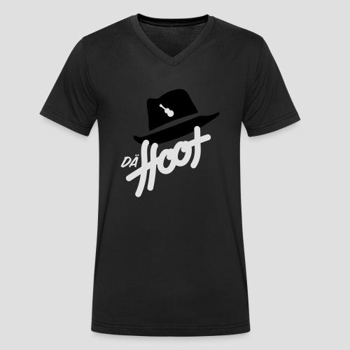 daeHoot_Shirt_Logo2_2c - Männer Bio-T-Shirt mit V-Ausschnitt von Stanley & Stella