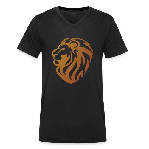 Bronze lion - T-shirt bio col V Stanley & Stella Homme
