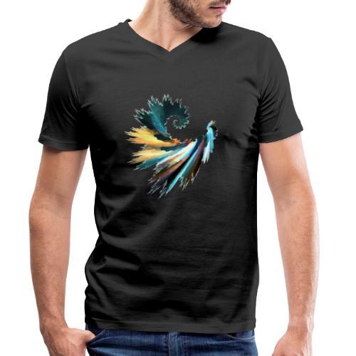 Fractal - T-shirt bio col V Stanley & Stella Homme