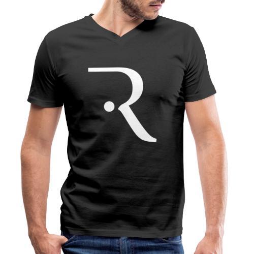 Recxoo - You're Never Alone with a Recxoo - Økologisk Stanley & Stella T-shirt med V-udskæring til herrer