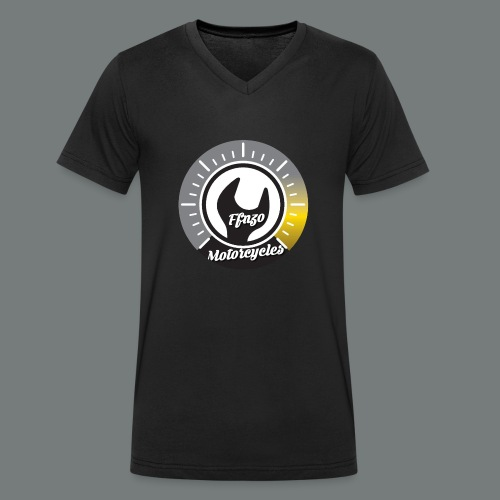 FFNZOMOTORCYCLES - T-shirt bio col V Stanley & Stella Homme