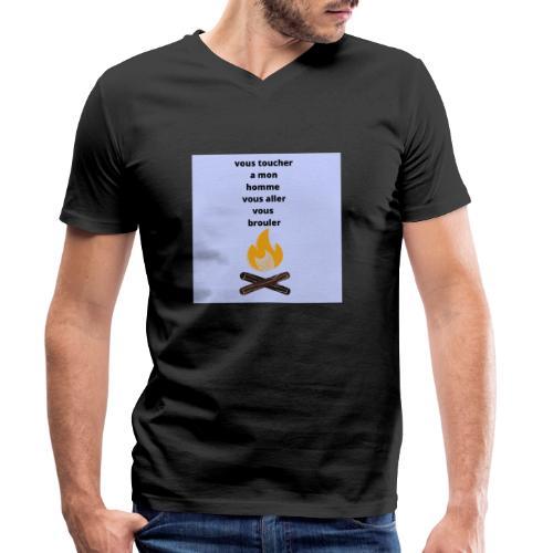 pour homme et femme - T-shirt bio col V Stanley & Stella Homme