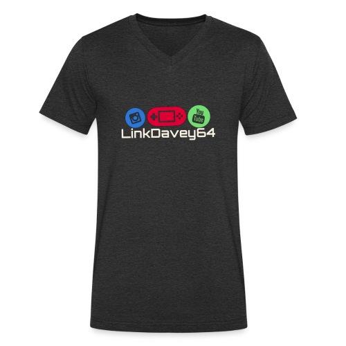LinkDavey64 - Mannen bio T-shirt met V-hals van Stanley & Stella