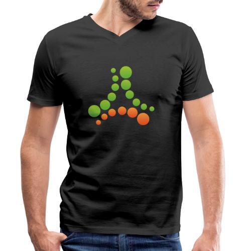 logotipo - T-shirt ecologica da uomo con scollo a V di Stanley & Stella