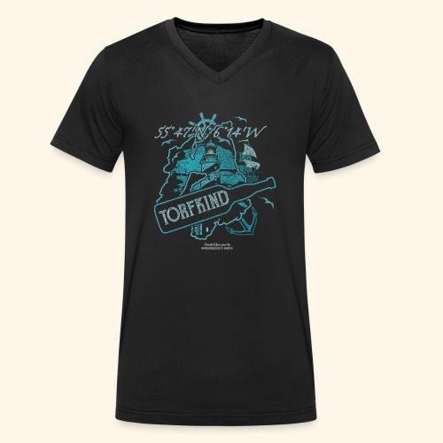 Torfkind Islay Design für Single Malt Whisky-Fans - Männer Bio-T-Shirt mit V-Ausschnitt von Stanley & Stella