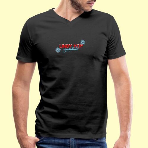 Lindy Hop Wonderland Tanz T-shirt - Männer Bio-T-Shirt mit V-Ausschnitt von Stanley & Stella